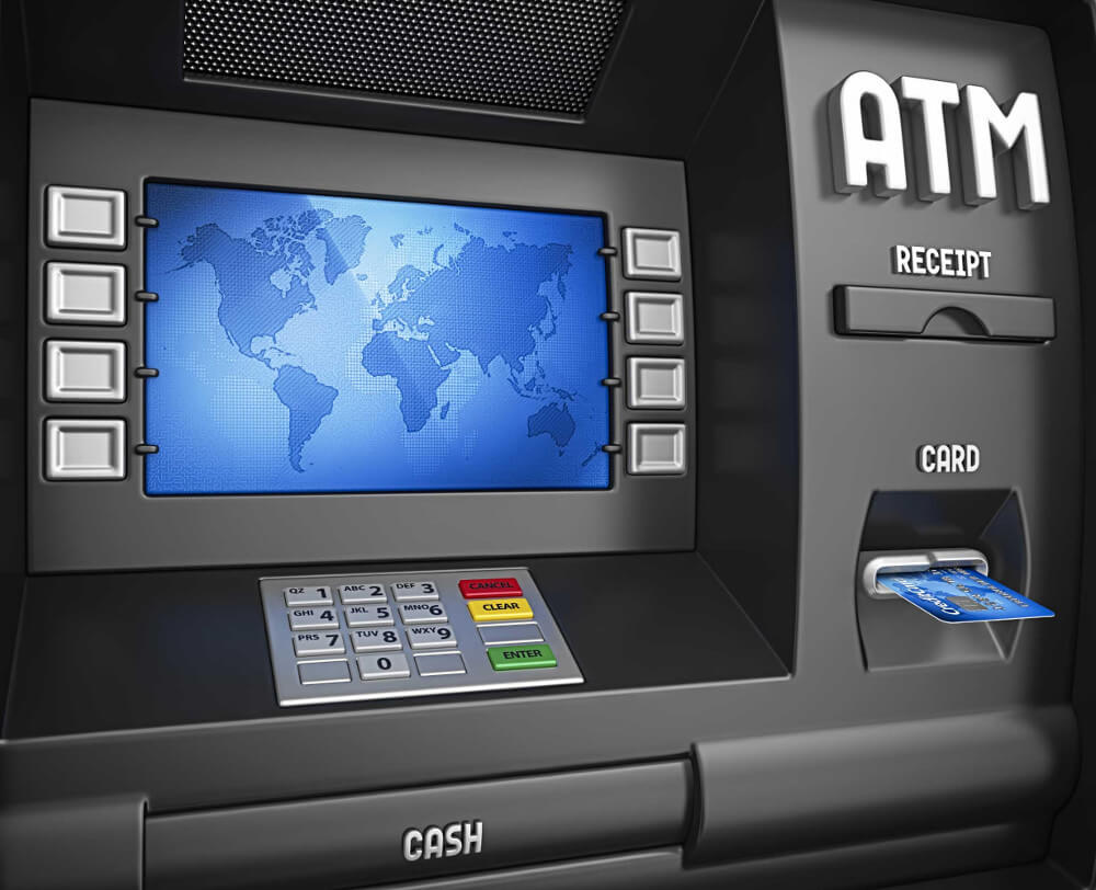 ATM Machine How To Use